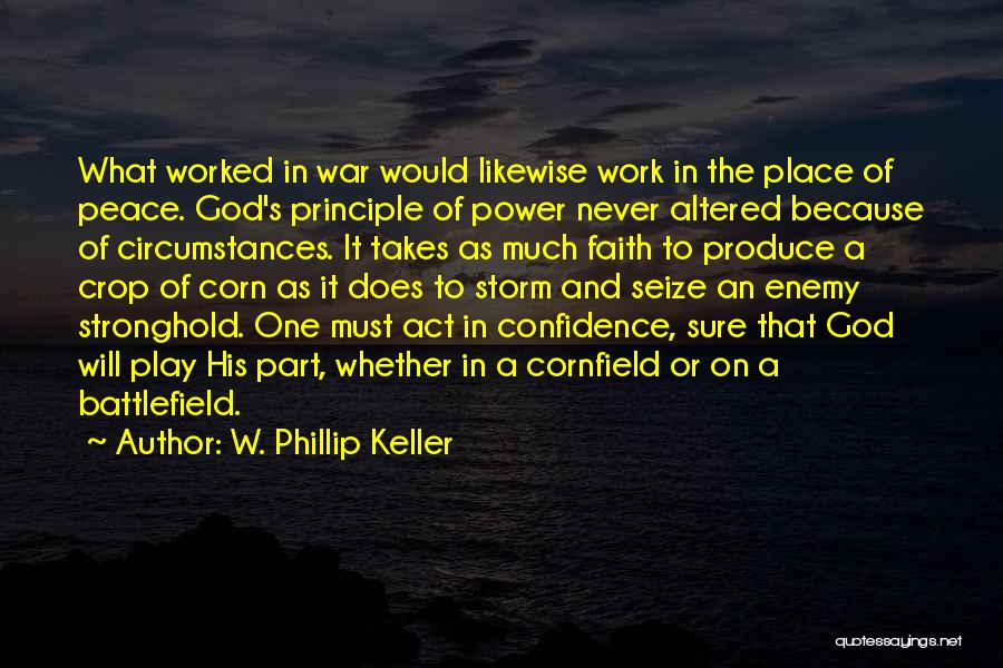 The Living God Quotes By W. Phillip Keller
