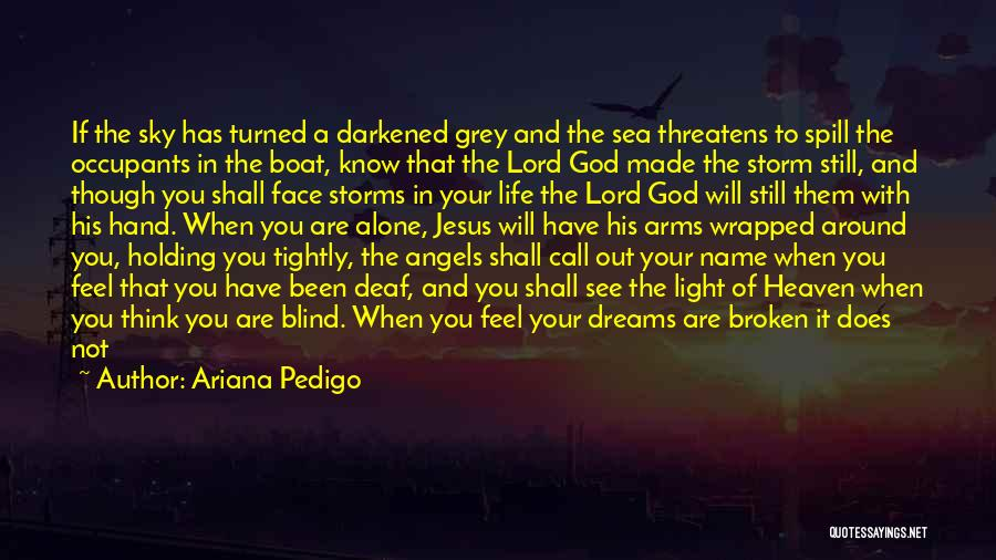 The Lord Of Light Quotes By Ariana Pedigo