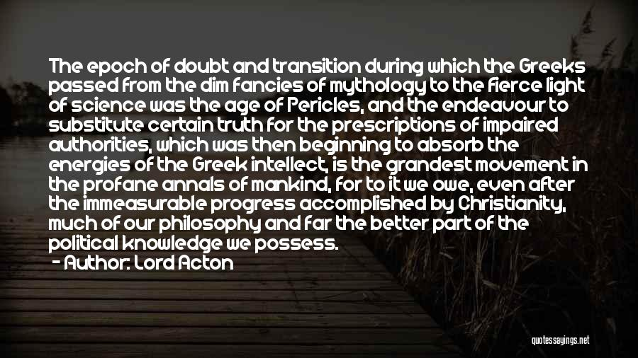 The Lord Of Light Quotes By Lord Acton