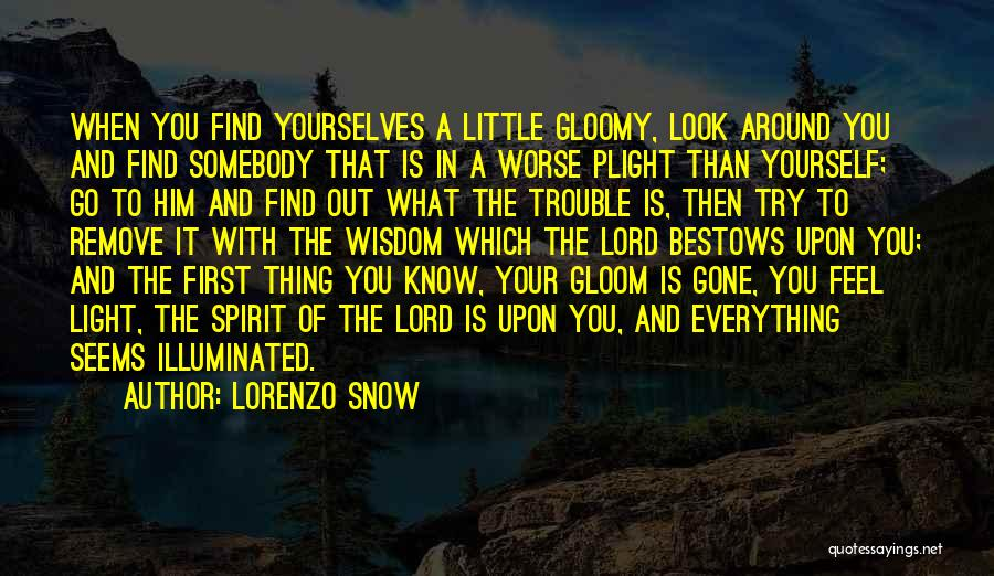The Lord Of Light Quotes By Lorenzo Snow