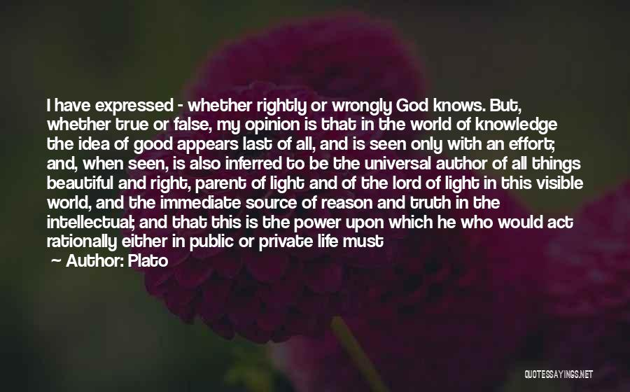 The Lord Of Light Quotes By Plato