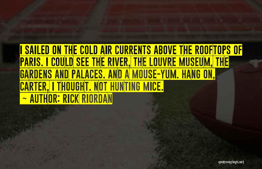 The Louvre Museum Quotes By Rick Riordan