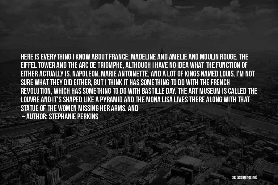 The Louvre Museum Quotes By Stephanie Perkins