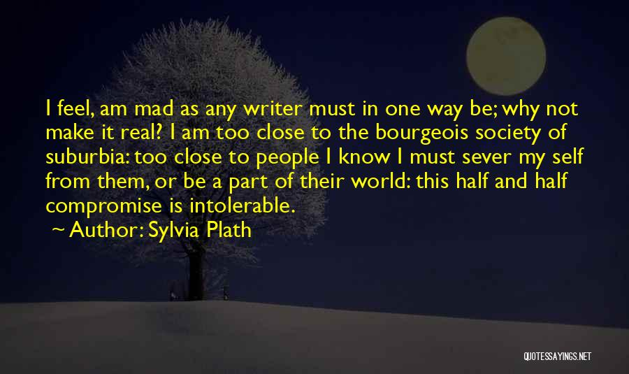 The Mad Real World Quotes By Sylvia Plath