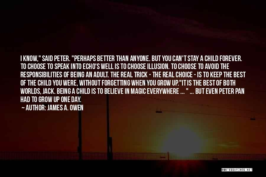 The Magic Of Childhood Quotes By James A. Owen