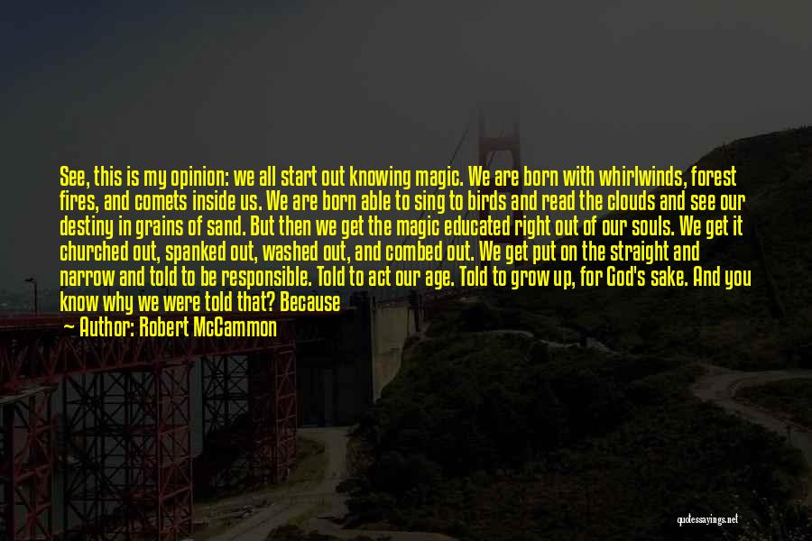 The Magic Of Childhood Quotes By Robert McCammon
