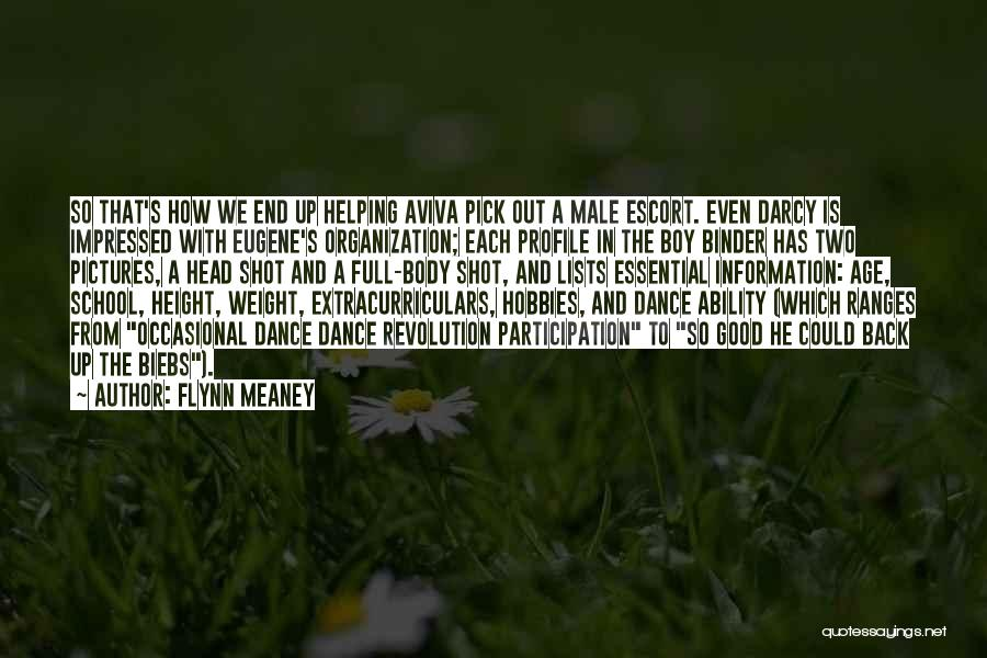 The Male Body Quotes By Flynn Meaney