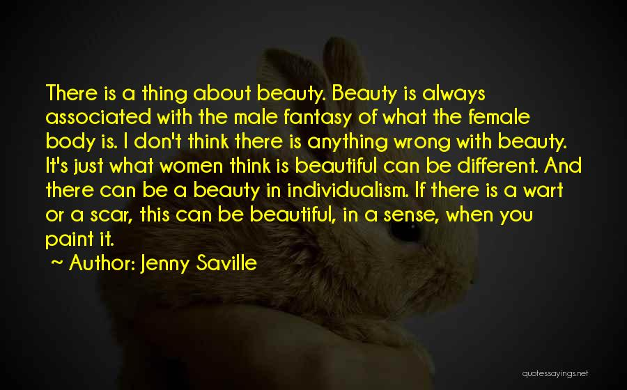 The Male Body Quotes By Jenny Saville