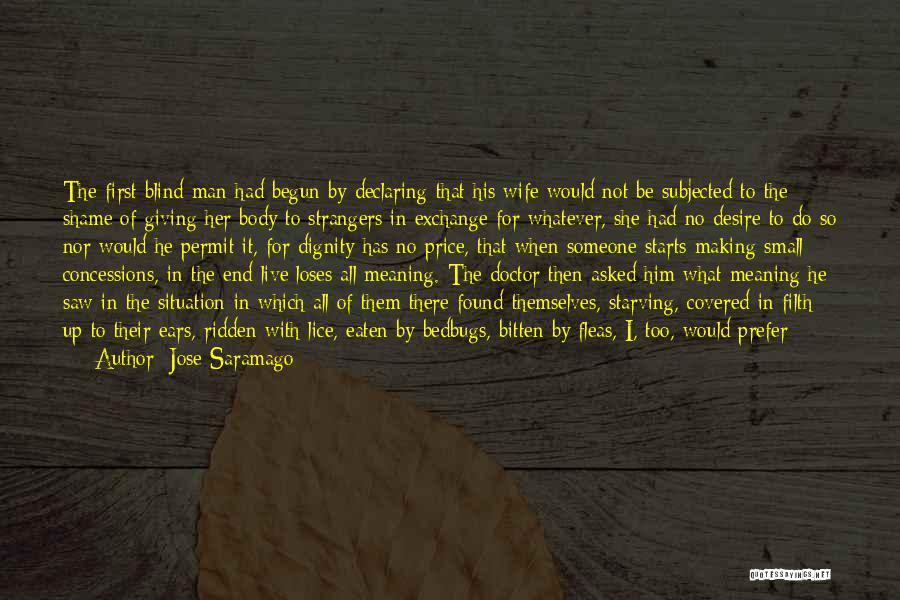 The Male Body Quotes By Jose Saramago