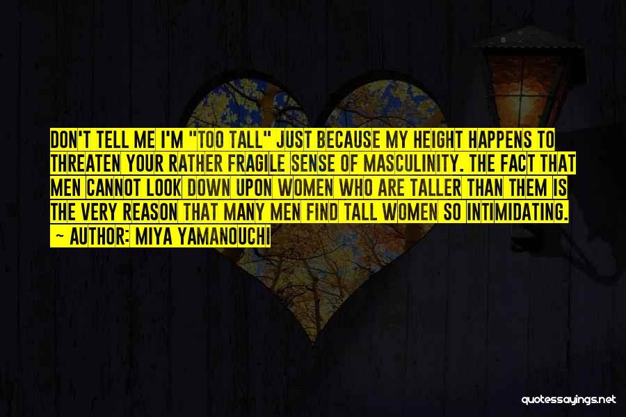 The Male Body Quotes By Miya Yamanouchi
