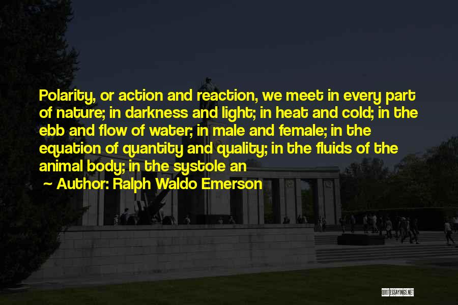 The Male Body Quotes By Ralph Waldo Emerson