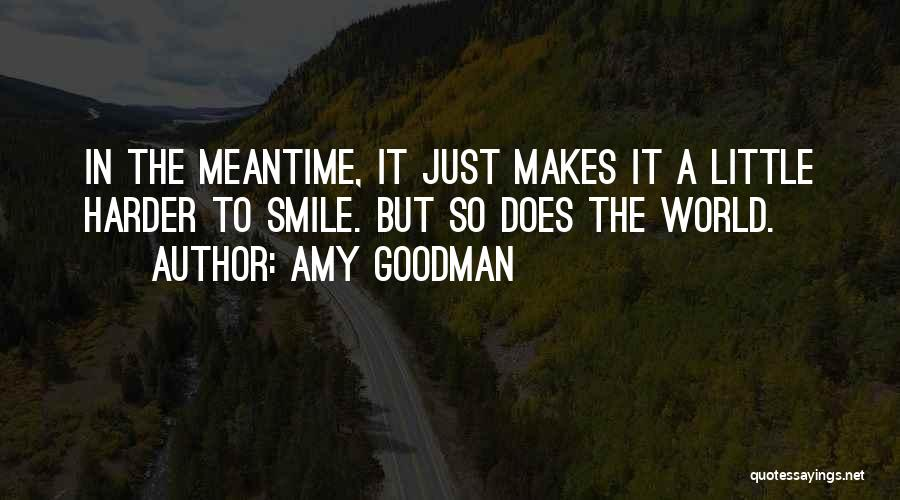 The Meantime Quotes By Amy Goodman