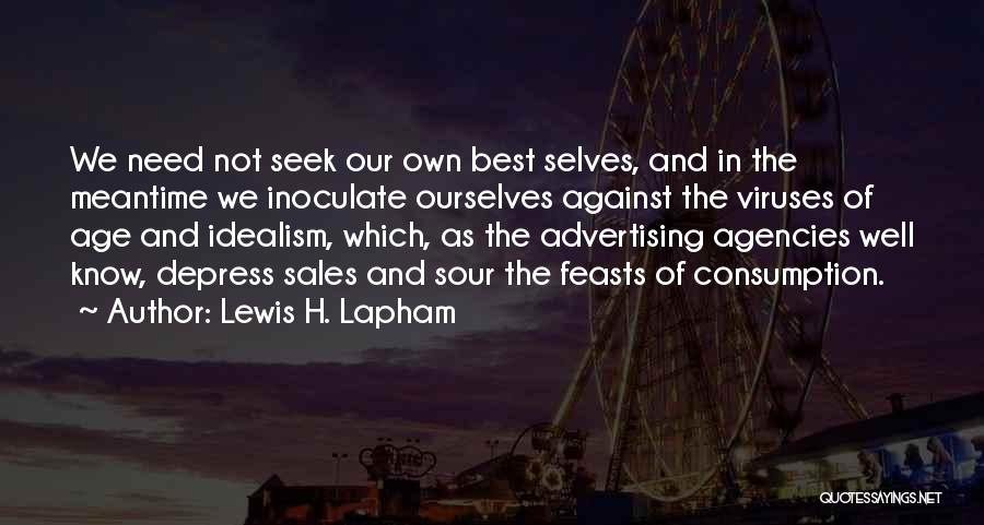 The Meantime Quotes By Lewis H. Lapham