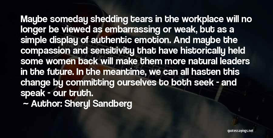 The Meantime Quotes By Sheryl Sandberg