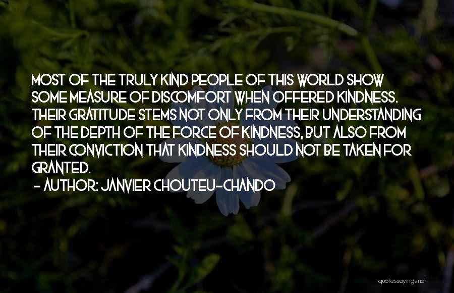 The Measure Of Friendship Quotes By Janvier Chouteu-Chando