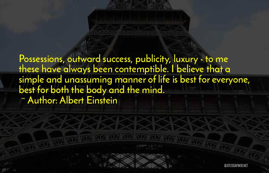 The Mind And Body Quotes By Albert Einstein