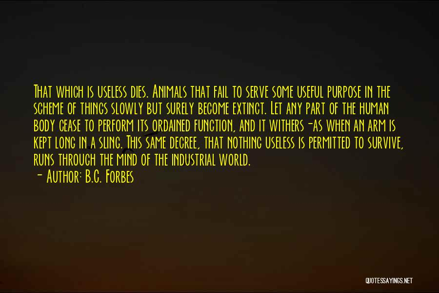 The Mind And Body Quotes By B.C. Forbes