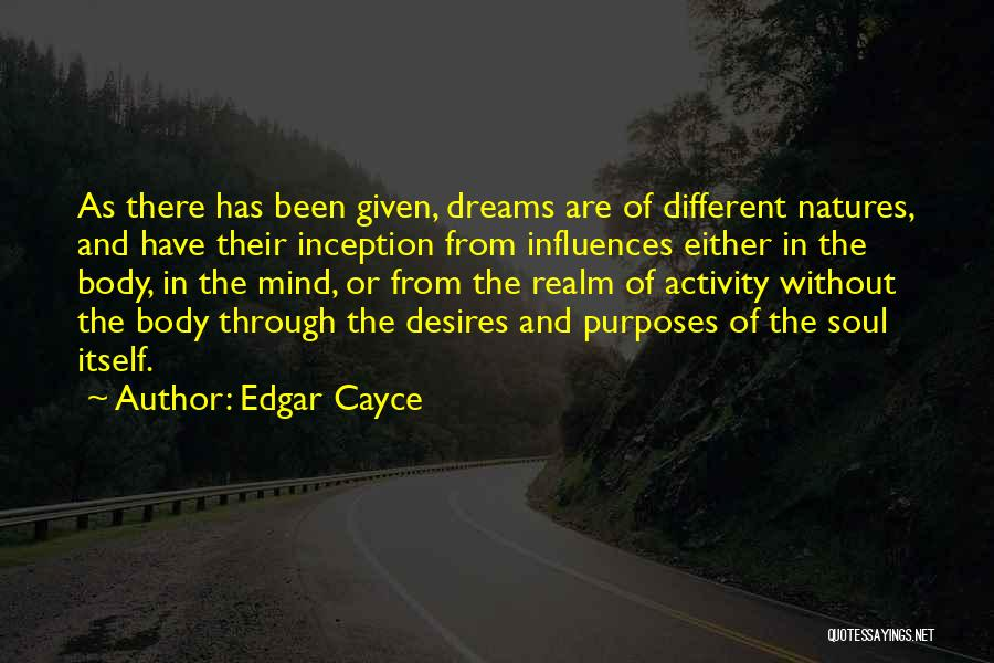 The Mind And Body Quotes By Edgar Cayce