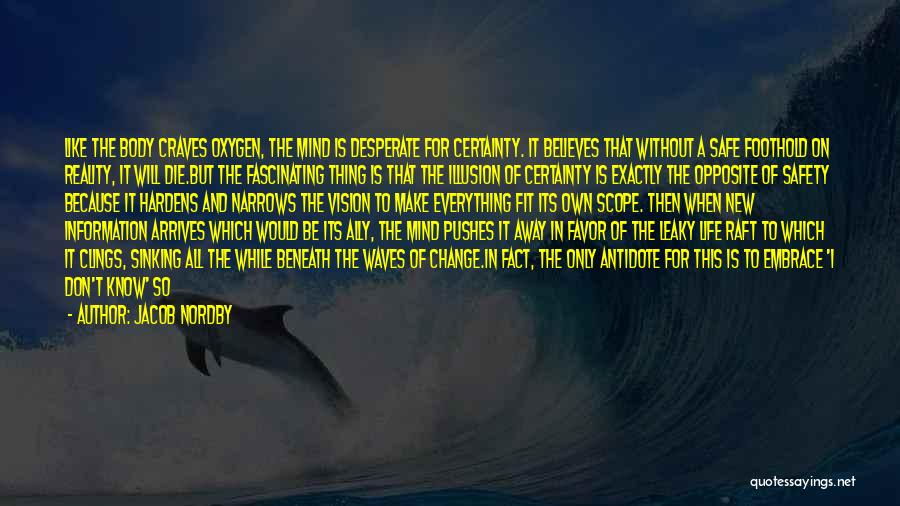 The Mind And Body Quotes By Jacob Nordby