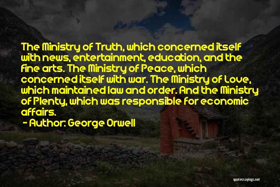 The Ministry Of Love In 1984 Quotes By George Orwell
