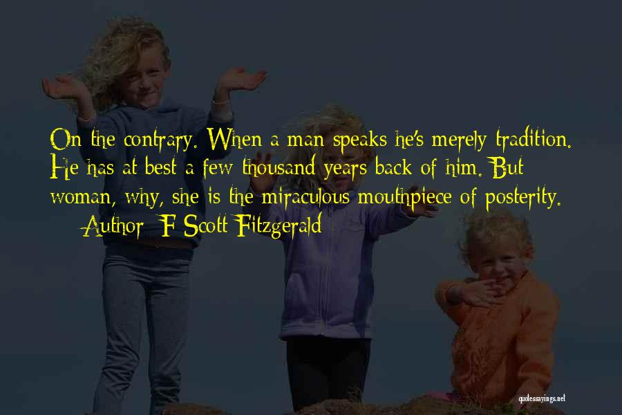 The Miraculous Quotes By F Scott Fitzgerald