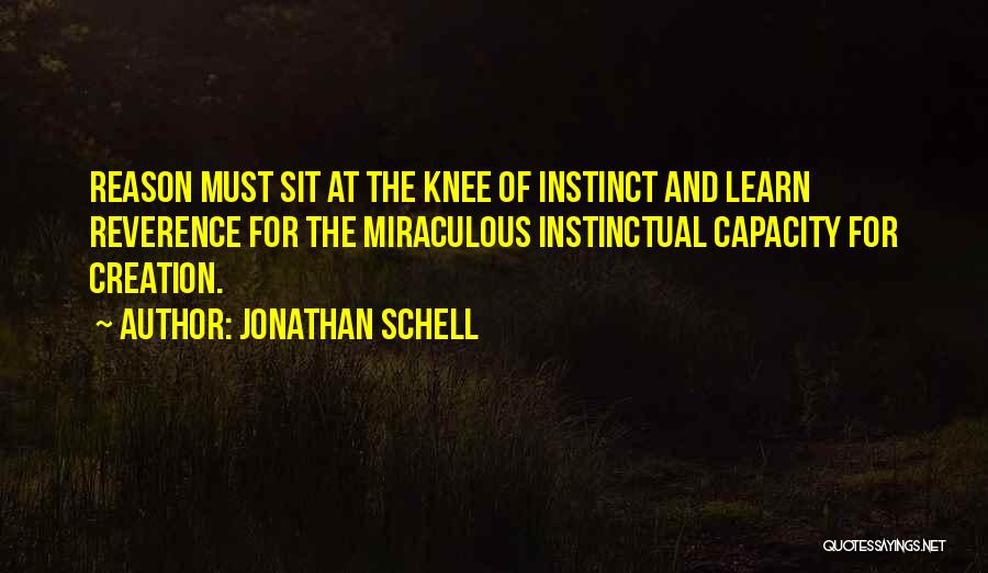 The Miraculous Quotes By Jonathan Schell