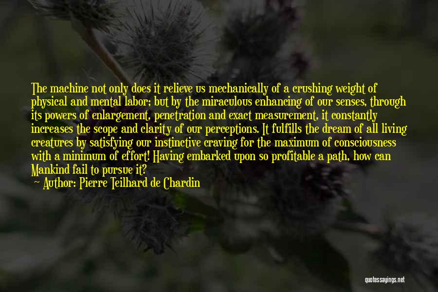 The Miraculous Quotes By Pierre Teilhard De Chardin