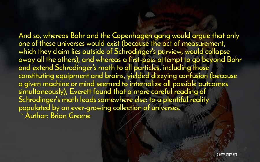 The More Lies Quotes By Brian Greene