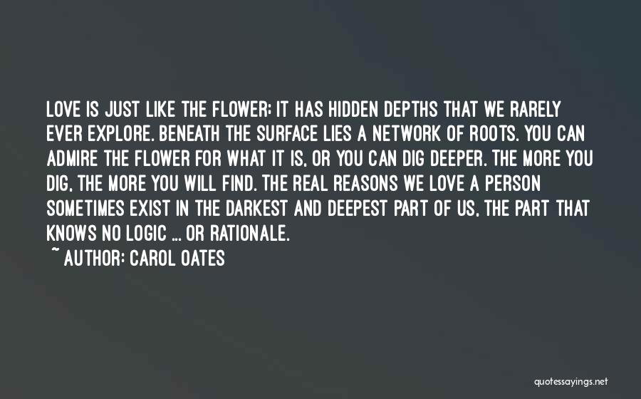 The More Lies Quotes By Carol Oates