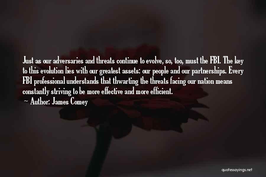 The More Lies Quotes By James Comey