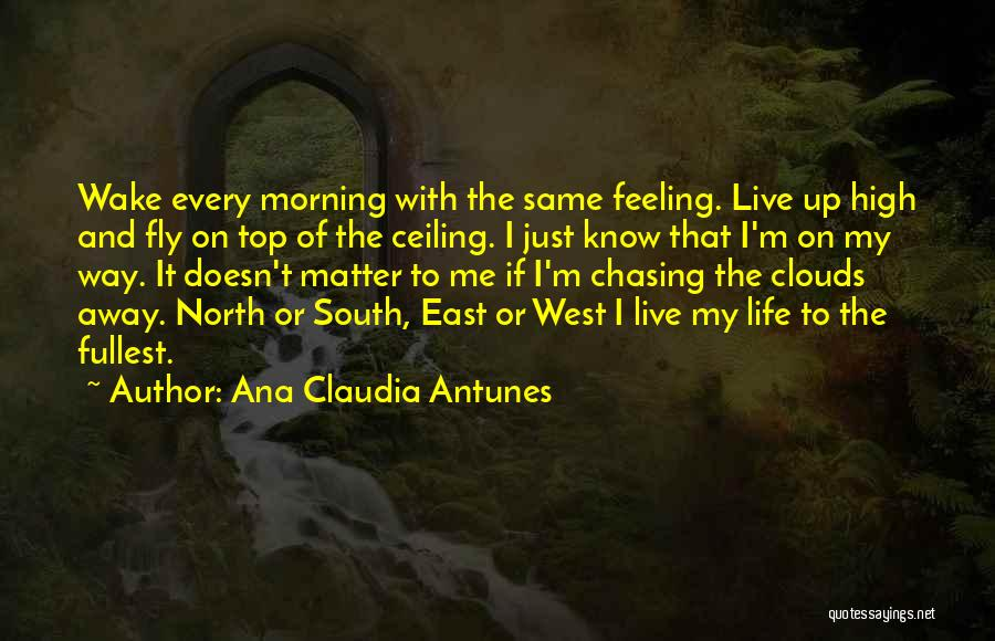 The Morning Sky Quotes By Ana Claudia Antunes