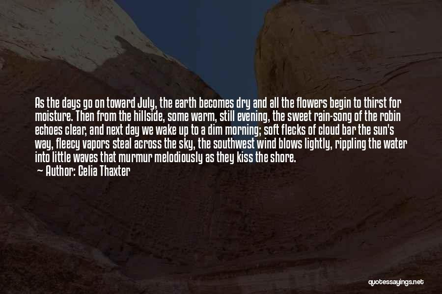 The Morning Sky Quotes By Celia Thaxter