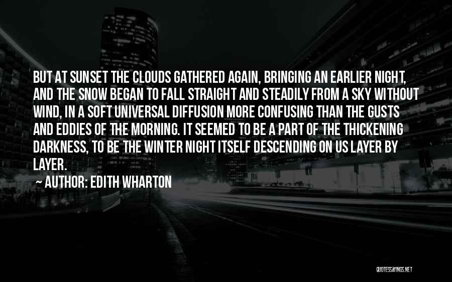 The Morning Sky Quotes By Edith Wharton