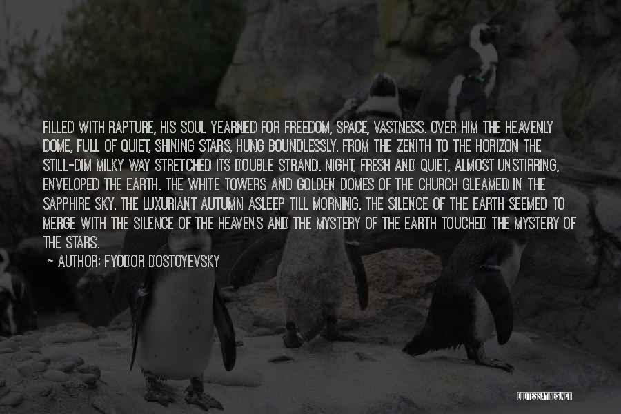 The Morning Sky Quotes By Fyodor Dostoyevsky