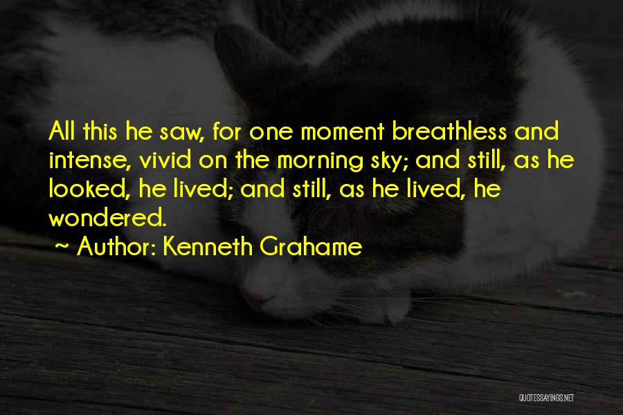The Morning Sky Quotes By Kenneth Grahame