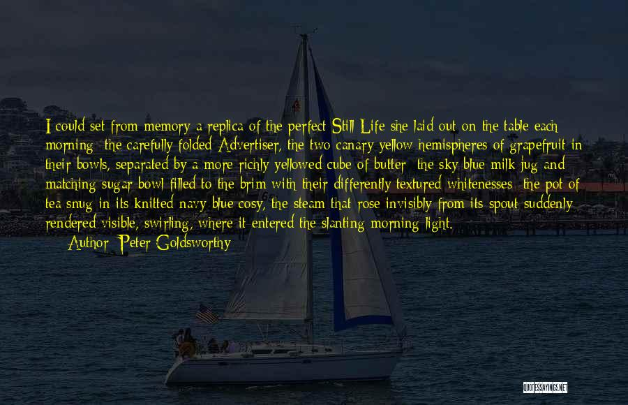 The Morning Sky Quotes By Peter Goldsworthy