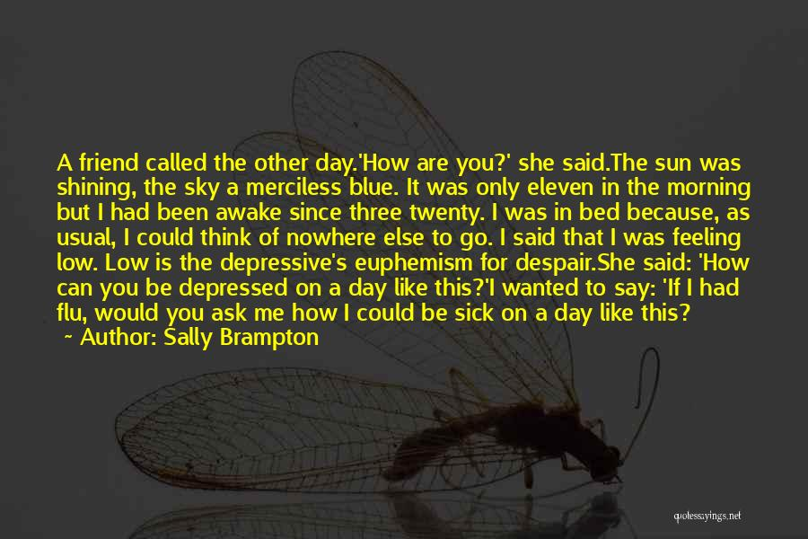The Morning Sky Quotes By Sally Brampton