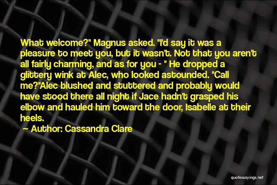 Top 3 The Mortal Instruments City Of Bones Magnus Bane Quotes