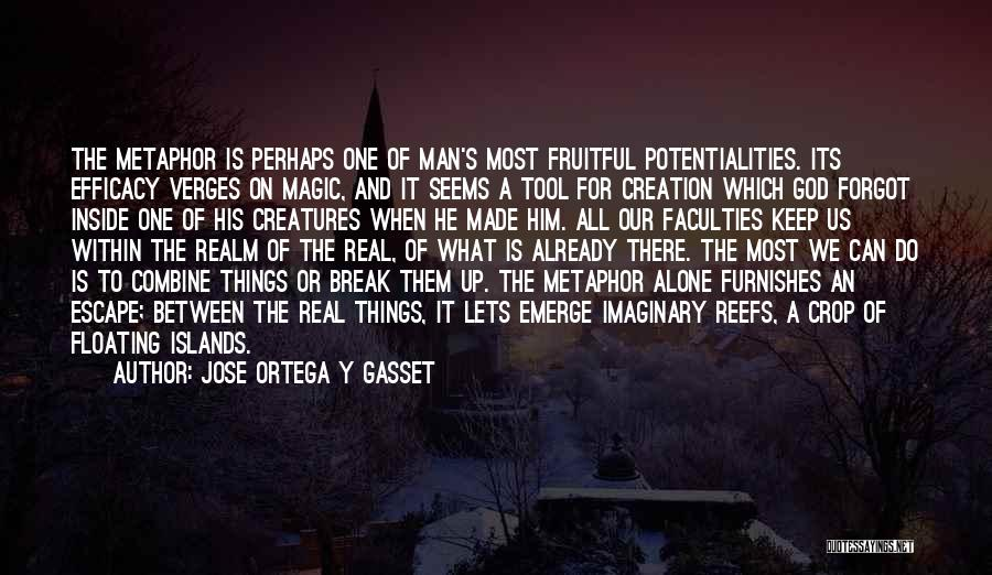 The Most Real Quotes By Jose Ortega Y Gasset