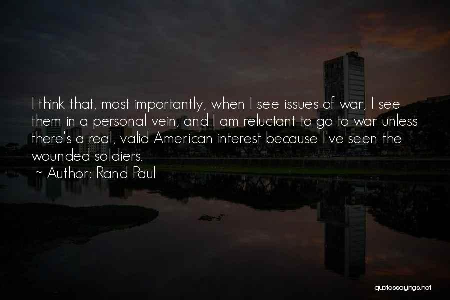 The Most Real Quotes By Rand Paul