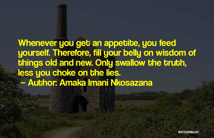 The New Love Quotes By Amaka Imani Nkosazana