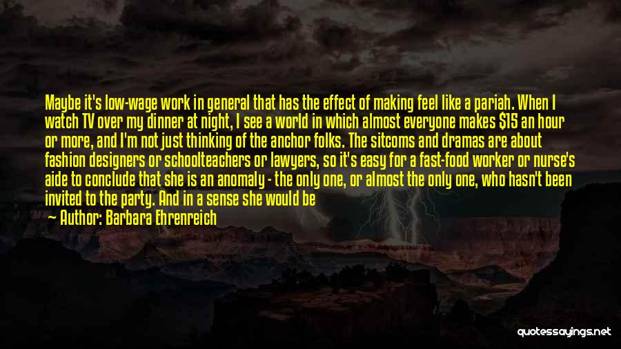 The Night She Disappeared Quotes By Barbara Ehrenreich