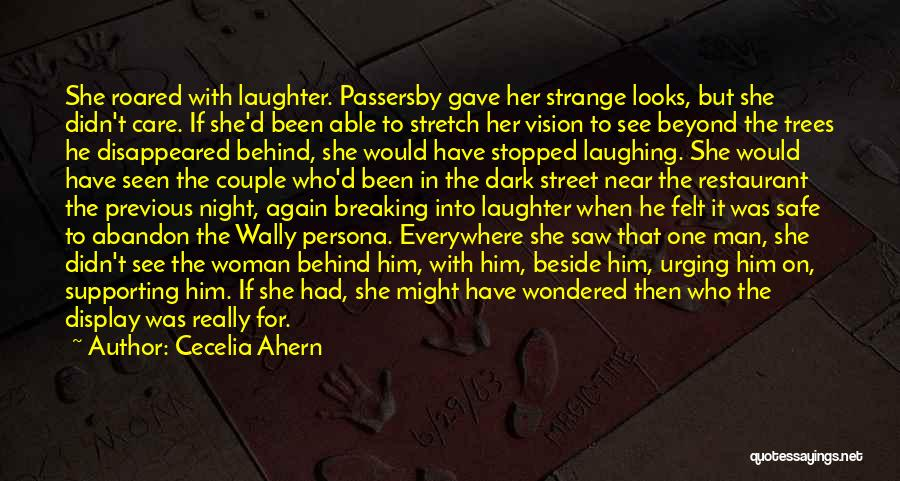 The Night She Disappeared Quotes By Cecelia Ahern