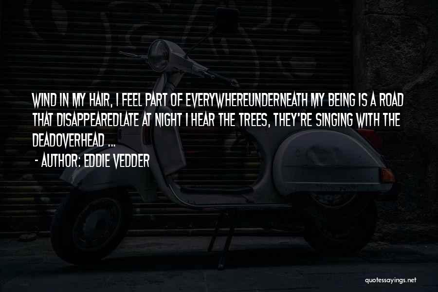 The Night She Disappeared Quotes By Eddie Vedder