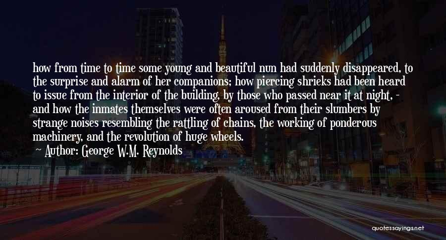 The Night She Disappeared Quotes By George W.M. Reynolds
