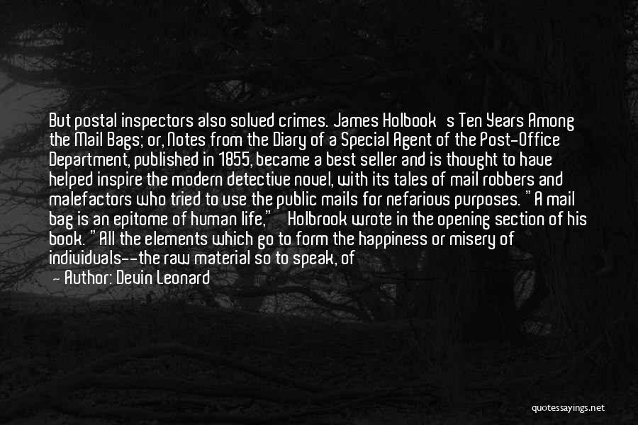 The Novel Speak Quotes By Devin Leonard