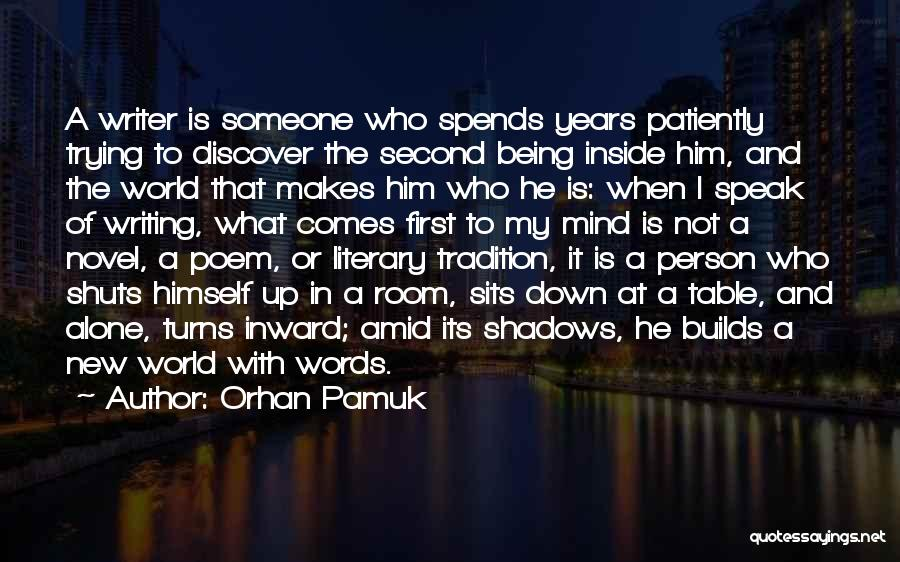 The Novel Speak Quotes By Orhan Pamuk