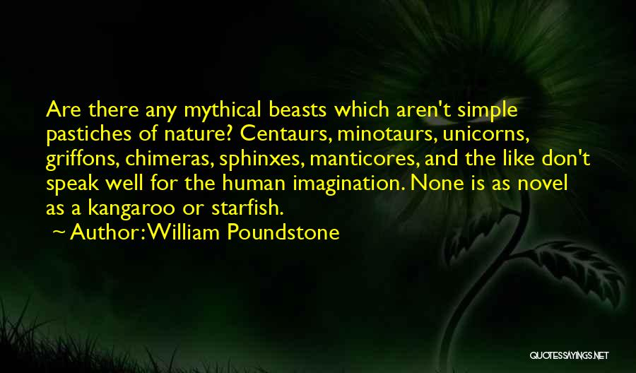 The Novel Speak Quotes By William Poundstone