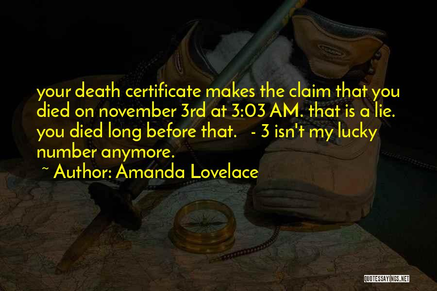 The Number 3 Quotes By Amanda Lovelace