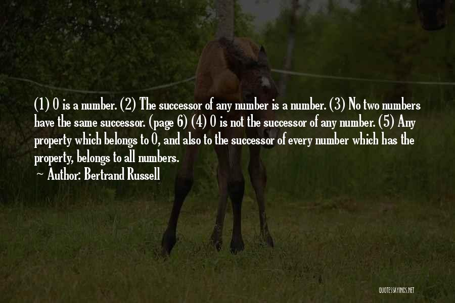 The Number 3 Quotes By Bertrand Russell